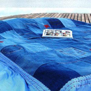 Couvre-lits en patchwork