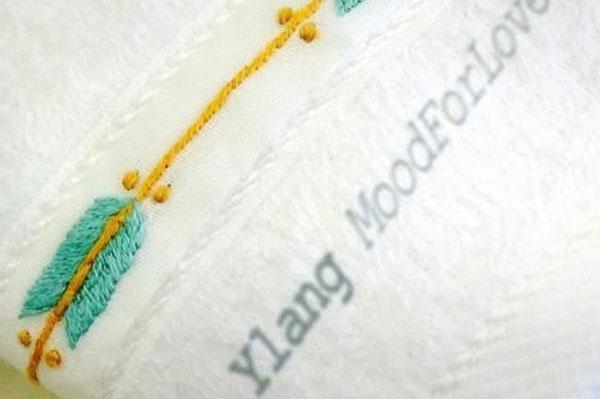 Collection d'Ylang de décoration et accessoires textiles