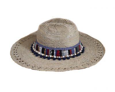 Chapeau « PANAMA BOHO BORD LARGE »