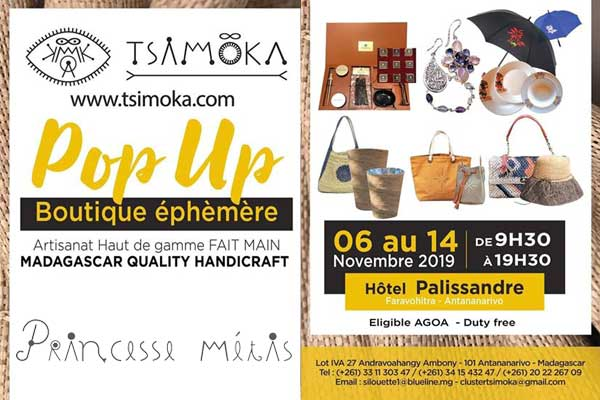 Pop Up – Boutique éphèmère – Tsimoka : Princesse Metis